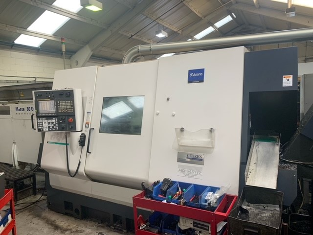 Preowned Miyano ABX-64SYY 9 axis Turning Centre