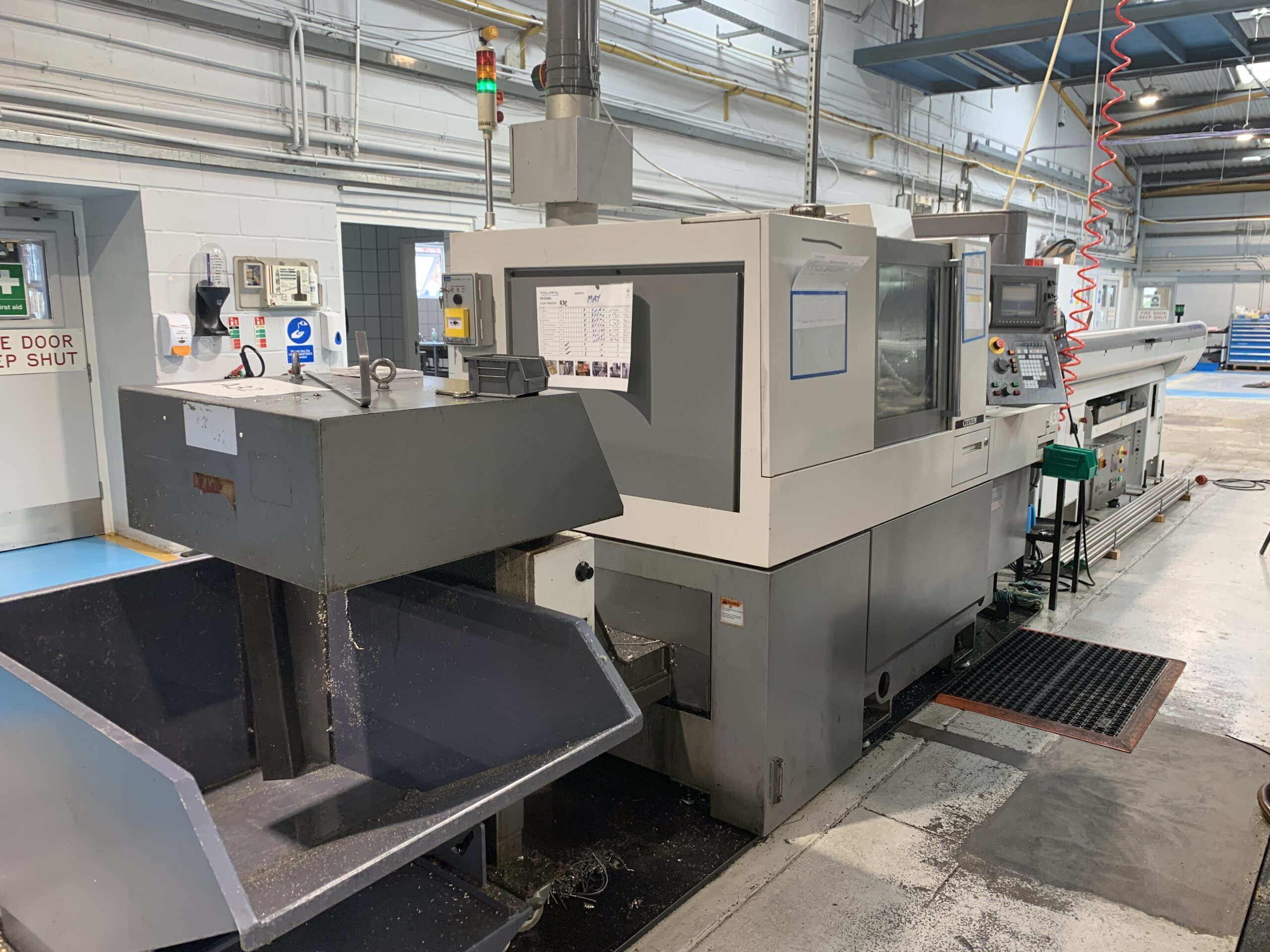 Preowned Cincom A32-VII 7 Axis CNC Sliding Headstock Turning Centre