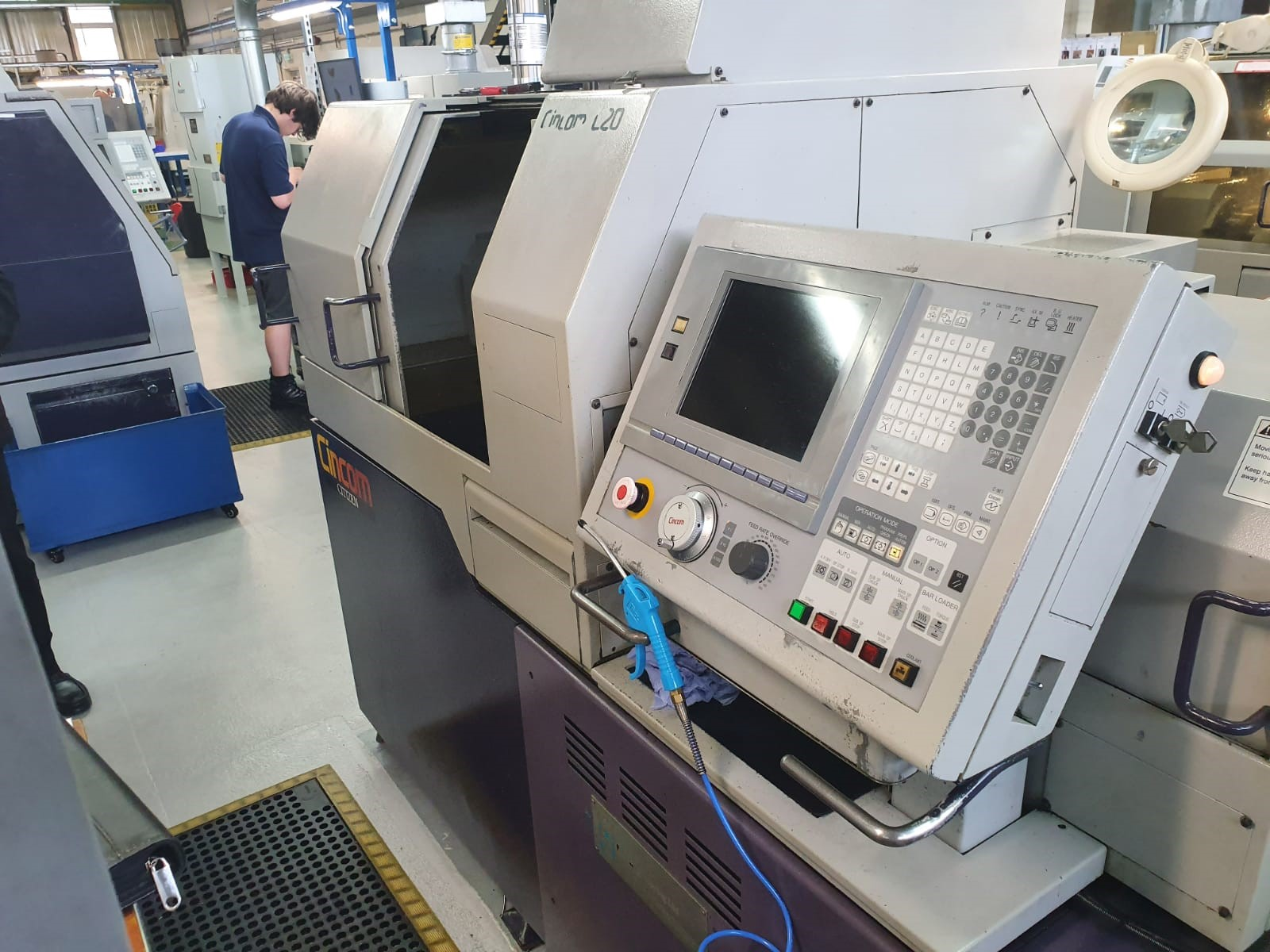 Preowned Citizen L520-VII 7 Axis CNC Sliding Headstock Turning Centre